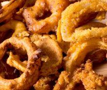 Rondelles d'oignons à la friteuse à air