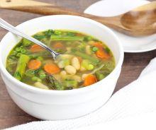Soupe aux légumes du printemps