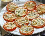 Tomates gratinées au Parmesan
