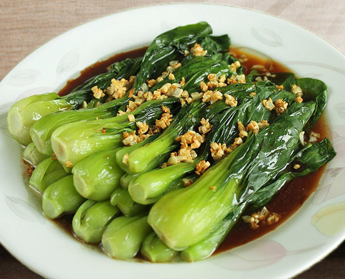 La recette facile de Bok Choy à la sauce aux huîtres