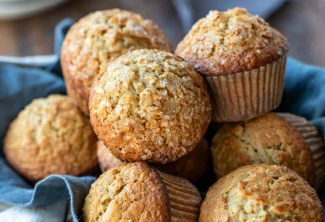 La meilleure recette de muffins d'avoine à l'érable et à la cassonade!