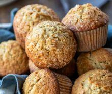 Muffins d'avoine à l'érable et à la cassonade