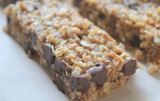 La recette facile pour faire des barres tendres au granola et chocolat!