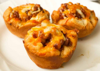 La recette facile de cupcakes de Sloppy Joe (Super facile!)