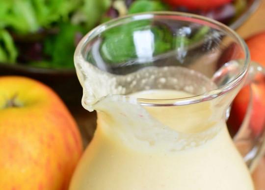 La meilleure recette de vinaigrette de pommes! Humm :)