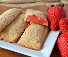 Barres nutrigrains aux fraises