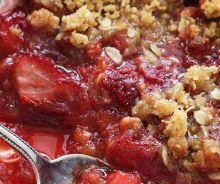 Croustade aux fraises