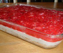 Gâteau du paradis aux fraises