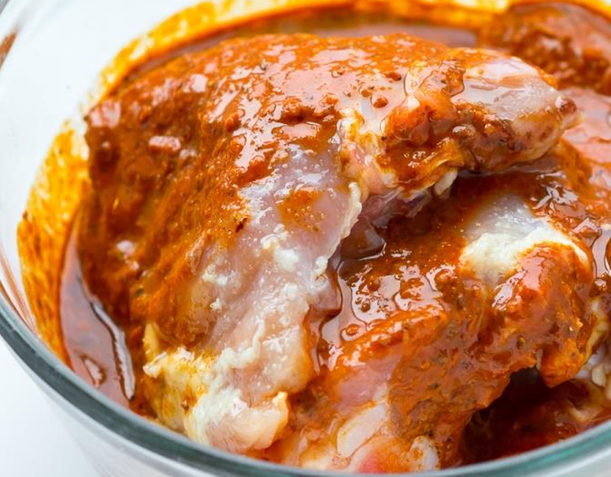 La meilleure marinade mexicaine pour le poulet (Super facile à faire!)