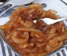 Oignons caramélisés au vinaigre balsamique