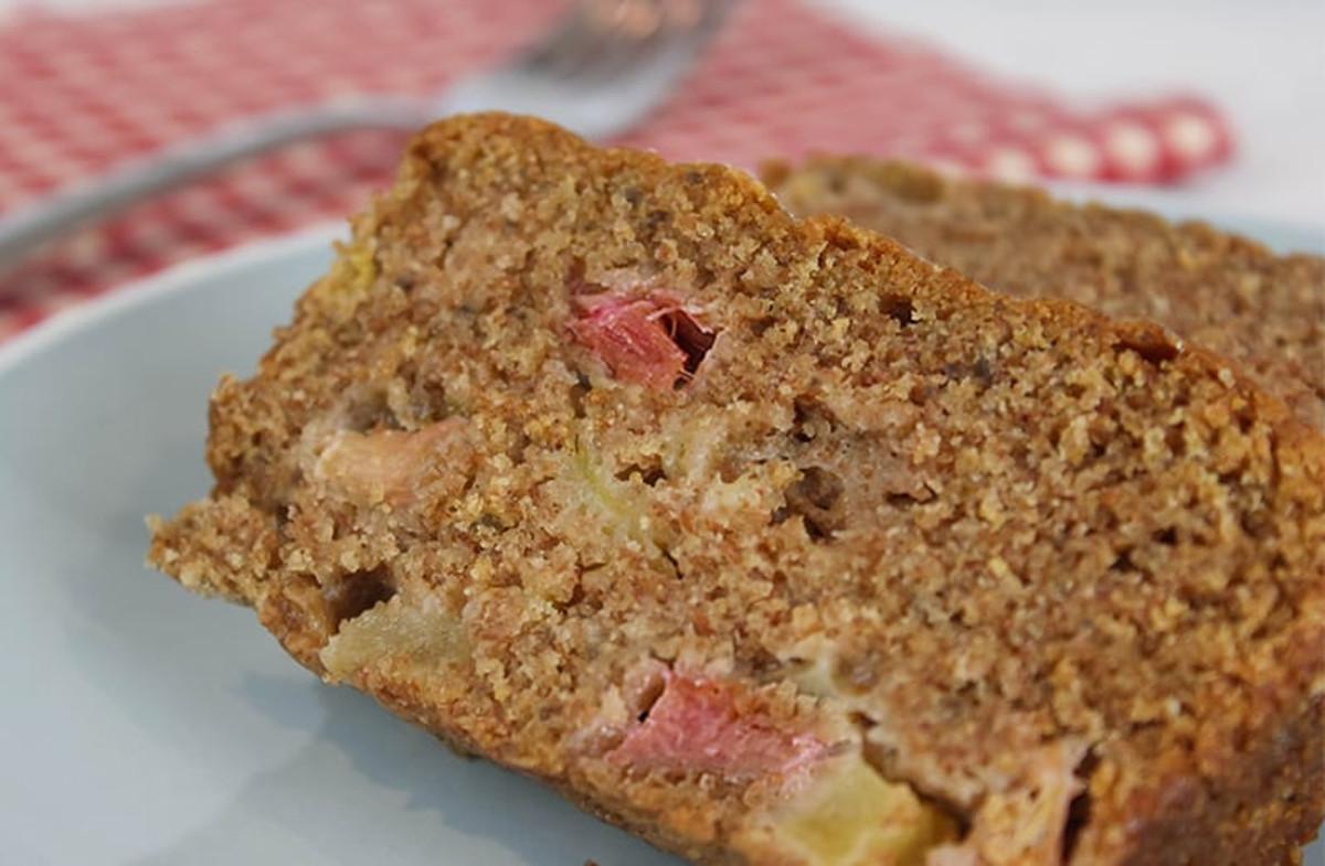 La délicieuse recette de pain à la rhubarbe (Très facile à faire!)