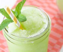 Slush à la lime et à la menthe