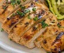 Poitrine de poulet grillée