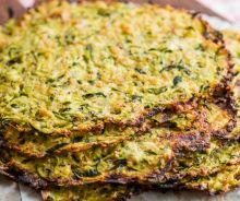 Tortillas de courgettes