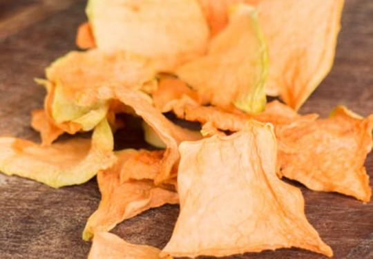 Une recette facile de chips de cantaloup très santé!