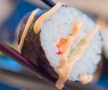 Sauce piquante à sushi