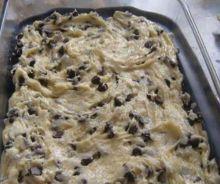 Biscuits de paresseux aux pépites de chocolat
