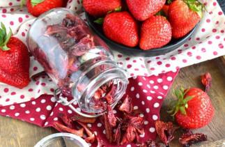 La recette facile des fraises déshydratées au four!