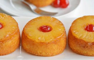 La meilleure recette de petits gâteaux renversés aux ananas!