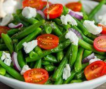 Salade de fèves vertes