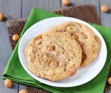 Biscuits aux poires et au caramel