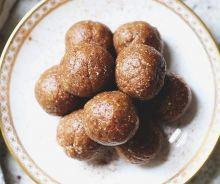Boules de tarte aux pommes