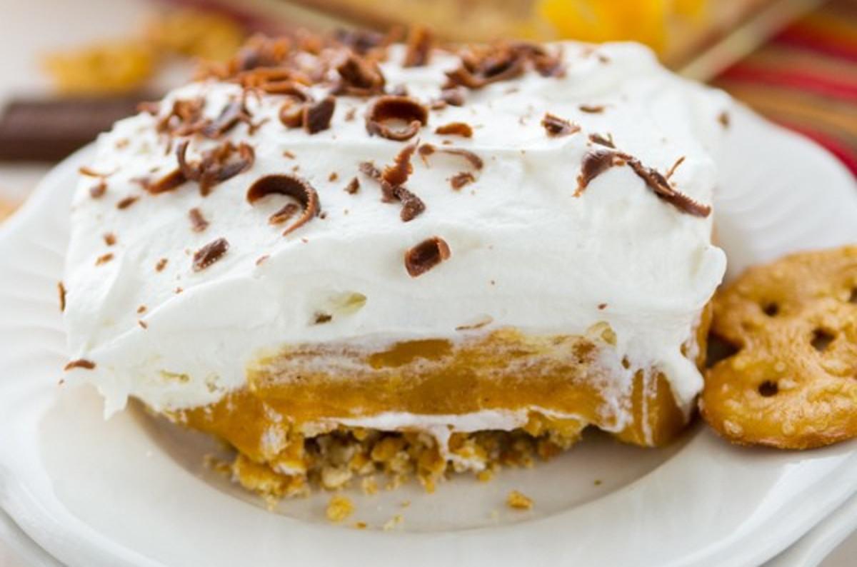 La meilleure recette de gâteau sans cuisson à la citrouille!