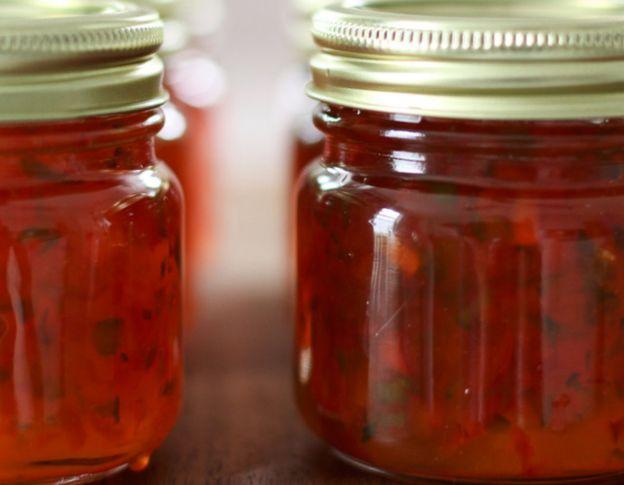 La meilleure recette de gelée de poivron rouge (Très facile à faire!)