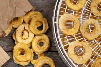 La recette facile de pommes déshydratées!