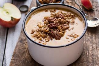 La recette de soupe aux pommes, bière et fromage parfaite pour l'automne!