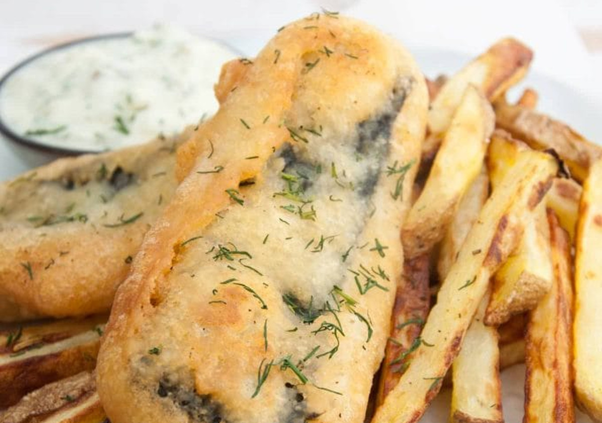 La recette facile de Tofish and Chips (Fish and Chips au tofu)!