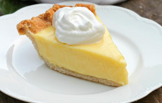 La meilleure tarte au citron à la crème sure (Facile et rapide à faire)