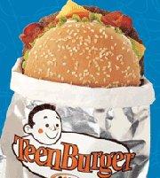 Le Teen Burger A&W Aew-teen-burger