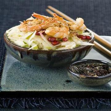 Recette de crevettes à la chinoise