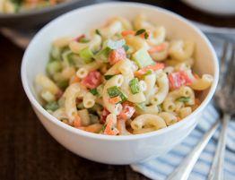 Recette facile de salade de macaroni style maman!