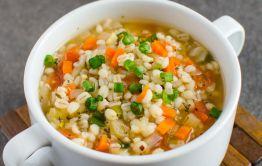 Recette facile de soupe santé à l'orge!